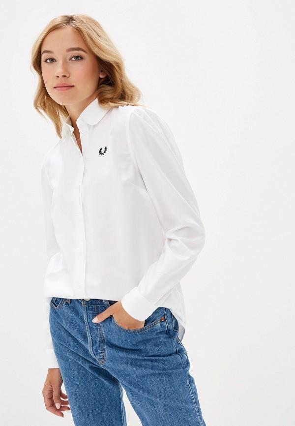 женская блузка fred perry, белая