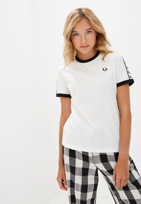 Футболка Fred Perry Fred Perry FR006EWGMDM9 свитшот fred perry fred perry fr006ewgmdl2