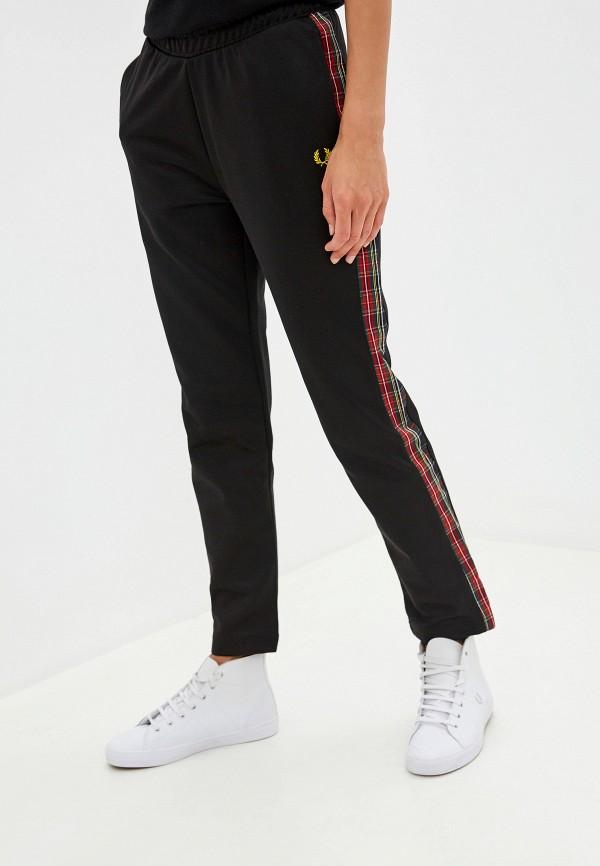 женские спортивные брюки fred perry, черные