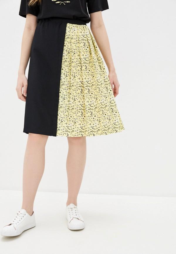 женская юбка fred perry, черная