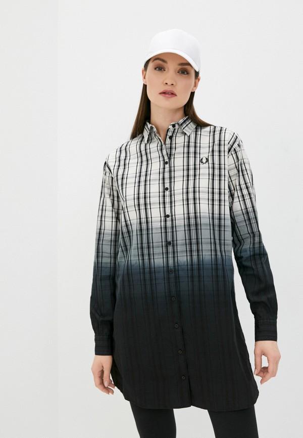 женское платье-рубашки fred perry, разноцветное