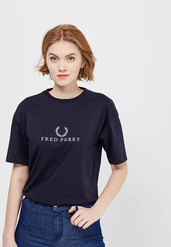 Футболка Fred Perry Fred Perry FR006EWZZW62 футболка fred perry fred perry fr006ewzzw63