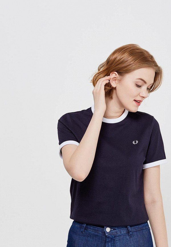 Футболка Fred Perry Fred Perry FR006EWZZW63 футболка fred perry fred perry fr006ewzzw63