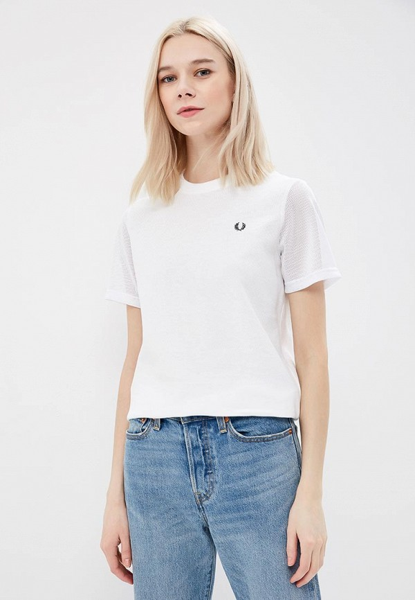 Футболка Fred Perry Fred Perry FR006EWZZW98 футболка fred perry fred perry fr006ewzzw61
