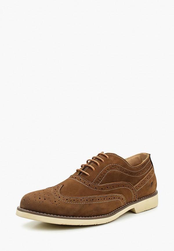 мужские туфли front by ascot, коричневые