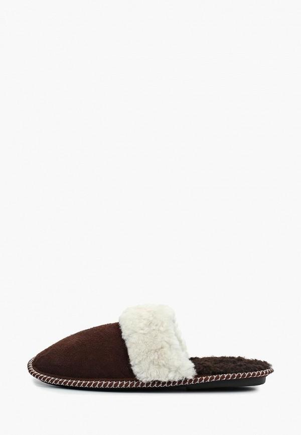 мужские тапочки fri & daytime, коричневые