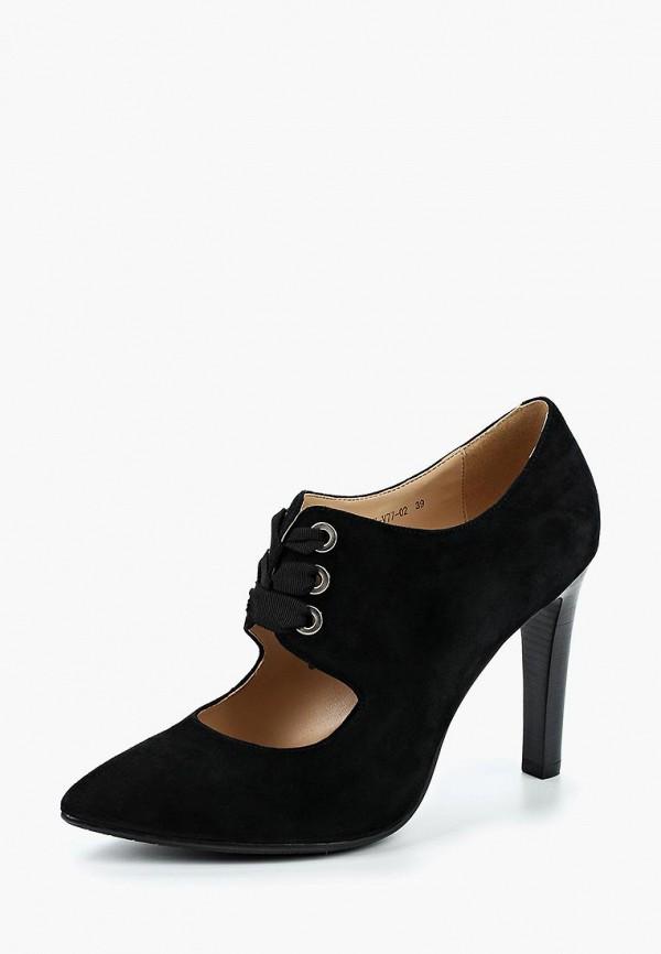 женские ботильоны francesco donni, черные