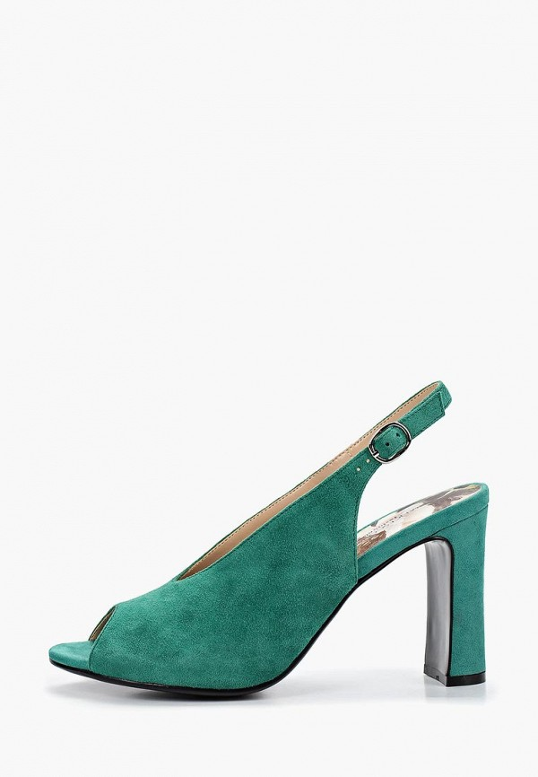 женские босоножки francesco donni, зеленые