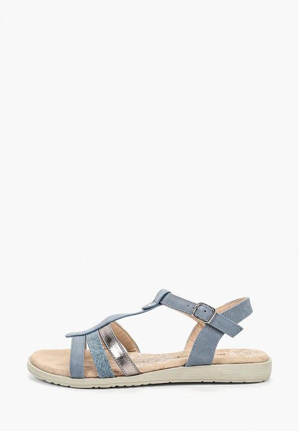 женские сандалии francesco donni, синие