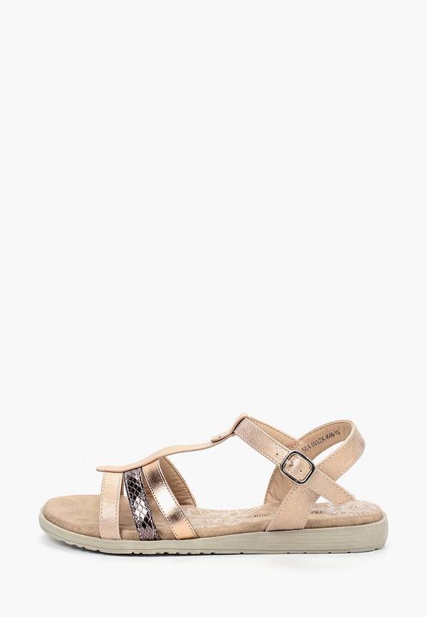 женские сандалии francesco donni, золотые