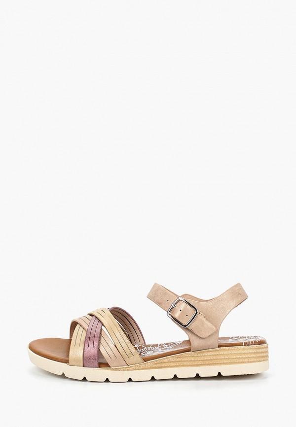 женские сандалии francesco donni, коричневые