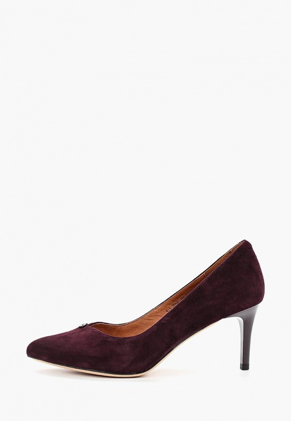 женские туфли francesco donni, бордовые