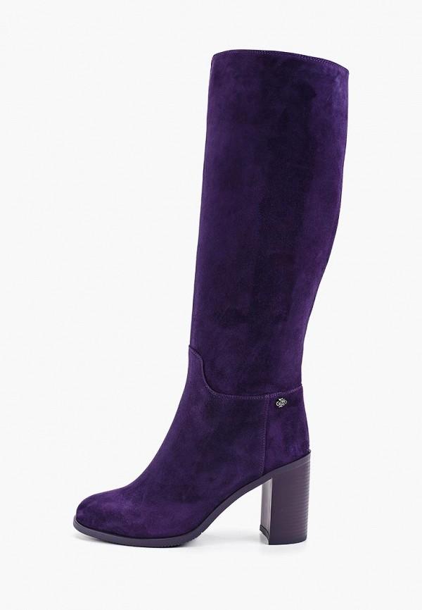 женские сапоги francesco donni, фиолетовые