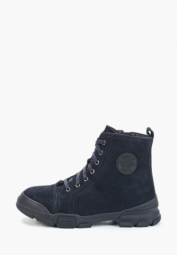 женские высокие ботинки francesco donni, синие