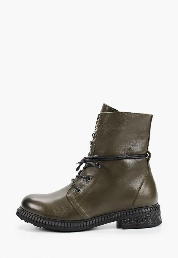 женские ботинки francesco donni, зеленые
