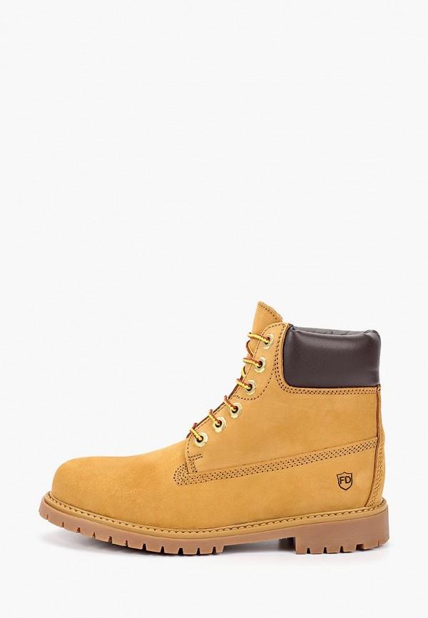 женские ботинки francesco donni, бежевые