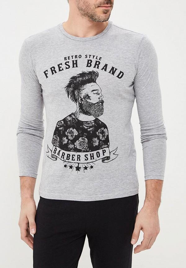 Лонгслив Fresh Brand Fresh Brand FR040EMBRBJ0 лонгслив серый grey fresh collection organic panda 44