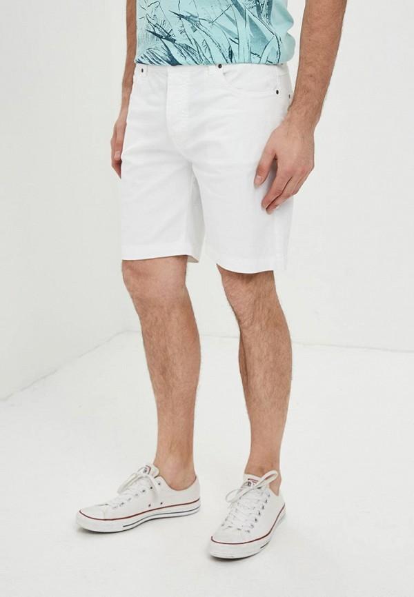 мужские джинсовые шорты fresh brand, белые