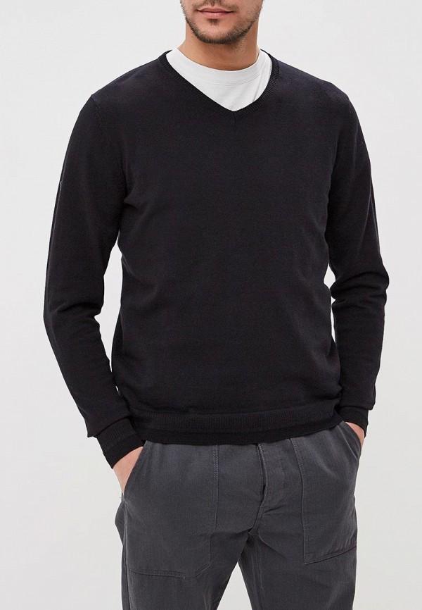 мужской пуловер fresh brand, черный