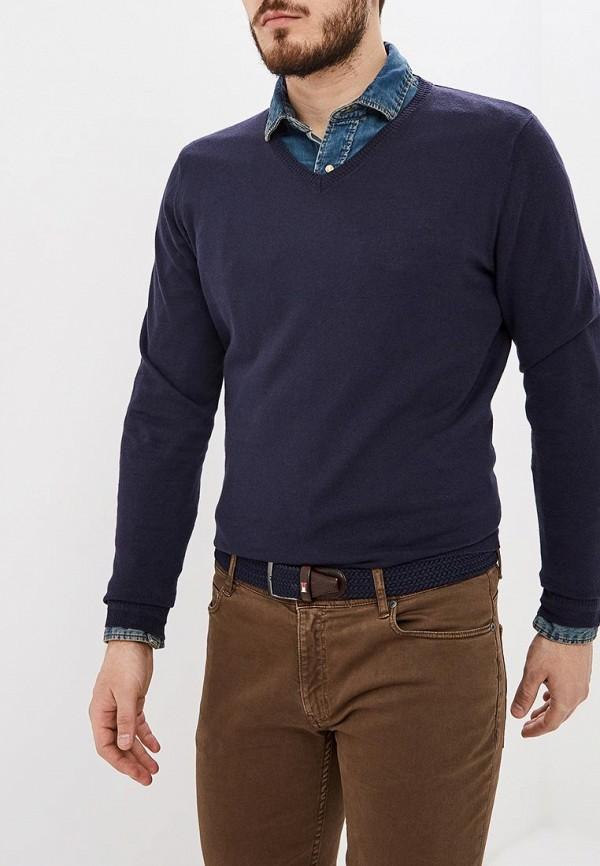 мужской пуловер fresh brand, синий