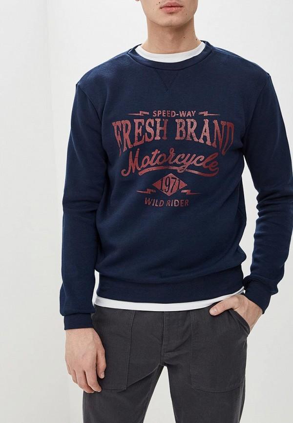 мужской свитшот fresh brand, синий