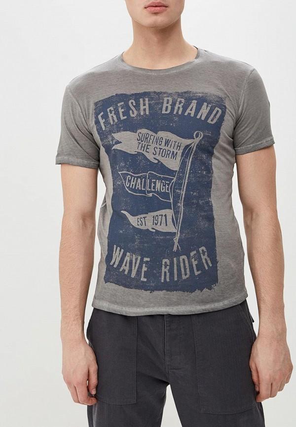 Футболка Fresh Brand Fresh Brand FR040EMENCU0 футболка fresh brand fresh brand fr040embrbo1