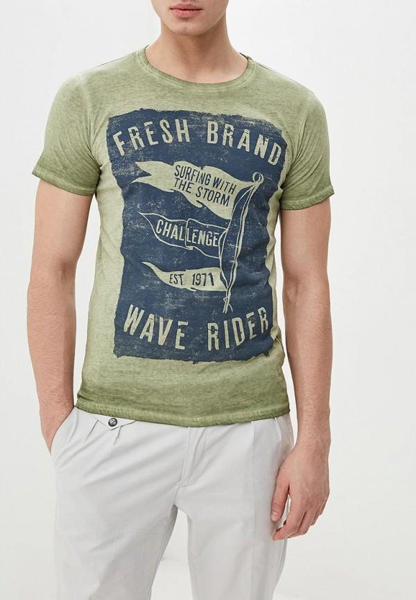 Футболка Fresh Brand Fresh Brand FR040EMENCU1 футболка fresh brand fresh brand fr040embrbo1