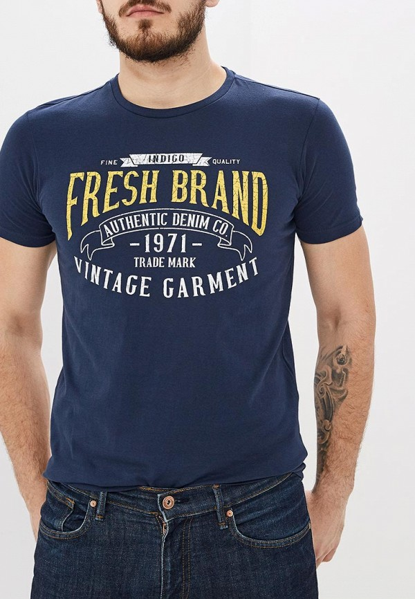 Футболка Fresh Brand Fresh Brand FR040EMENCX0 футболка fresh brand fresh brand fr040embrbo1