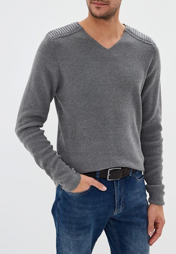 мужской пуловер fresh brand, серый