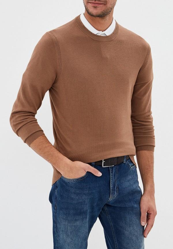 мужской джемпер fresh brand, коричневый