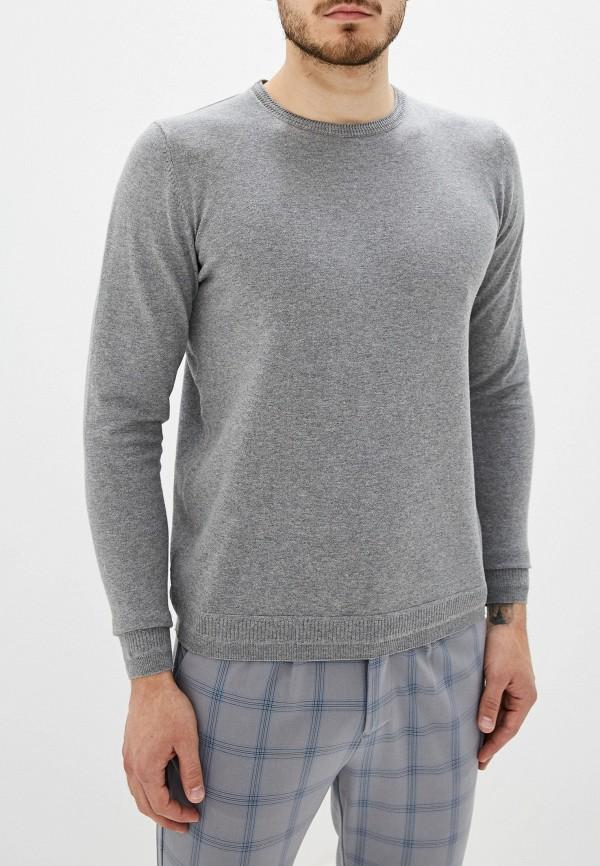 мужской джемпер fresh brand, серый