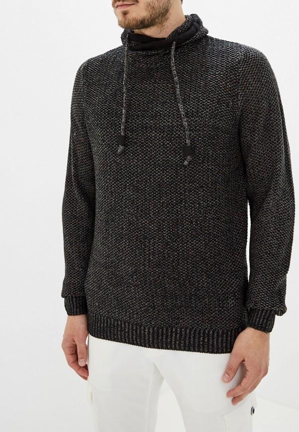 мужской свитер fresh brand, черный