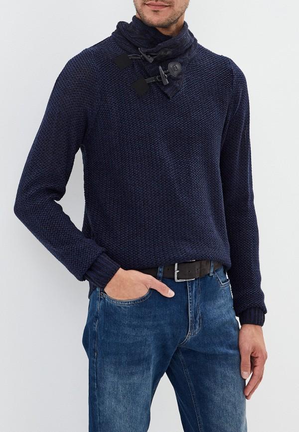 мужской свитер fresh brand, синий