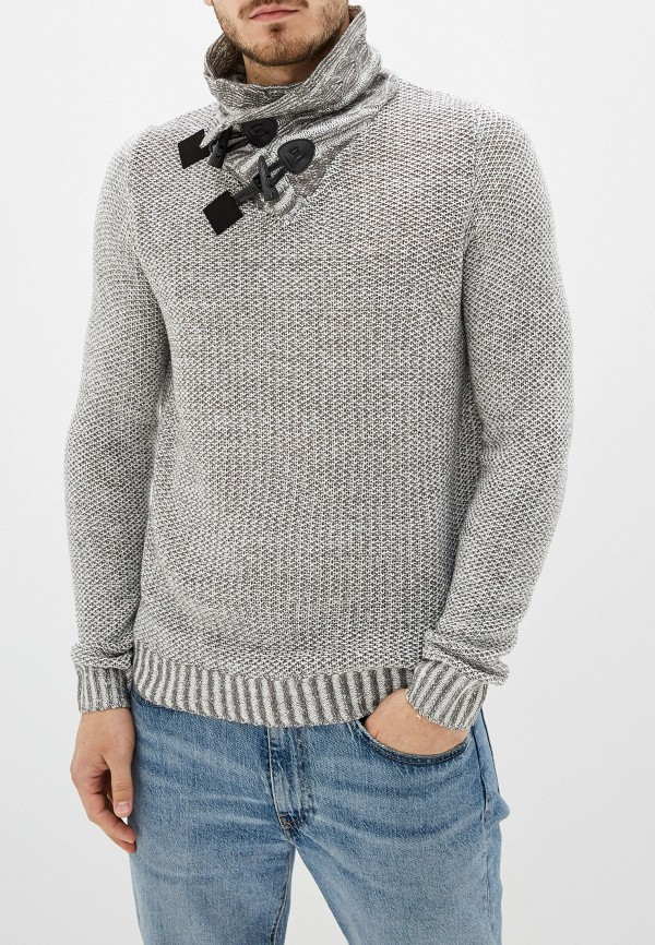 мужской свитер fresh brand, серый
