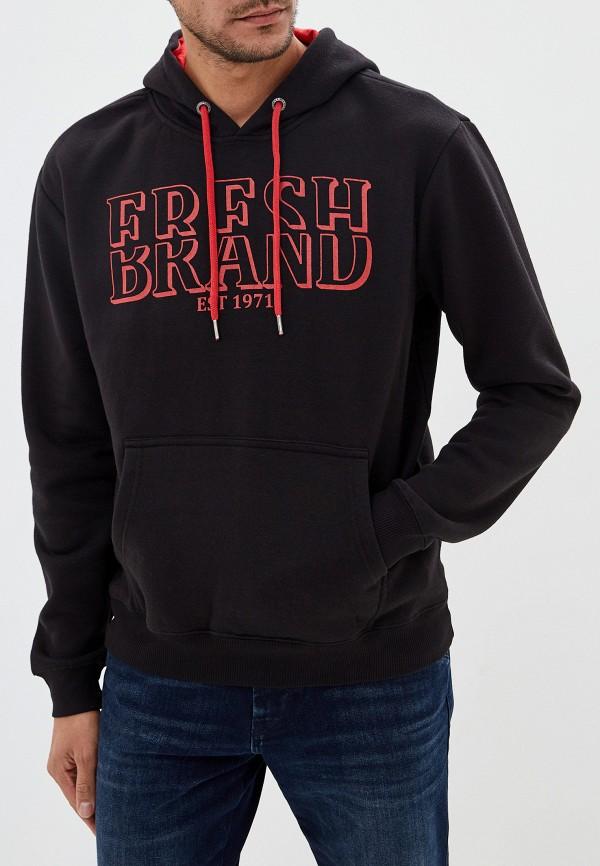 мужские худи fresh brand, черные