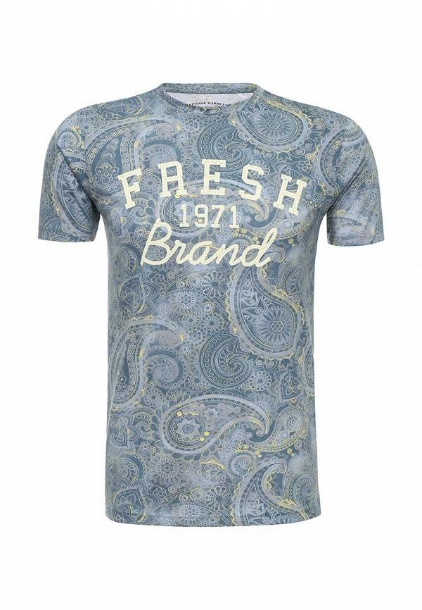 Купить Футболка Fresh Brand, FR040EMJQP41, синий, Осень-зима 2018/2019