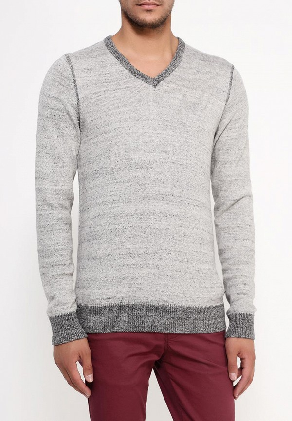Купить Пуловер Fresh Brand, Джемпер, FR040EMJZY15, серый, Осень-зима 2018/2019