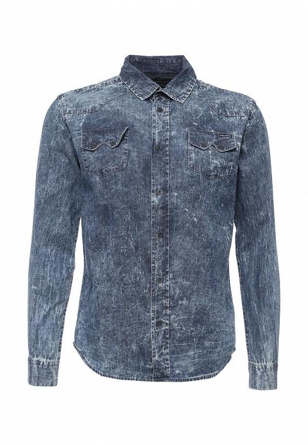 Купить Рубашка Fresh Brand, FR040EMPPD43, синий, Осень-зима 2018/2019