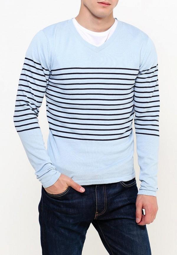 Купить Пуловер Fresh Brand, FR040EMVAS17, голубой, Осень-зима 2018/2019