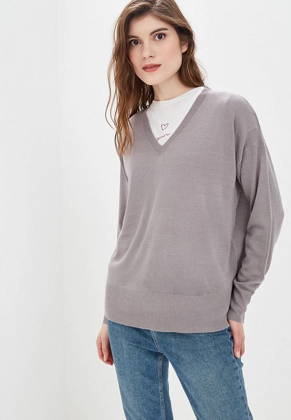 Купить Пуловер Fresh Brand, fr040ewcvmu8, серый, Осень-зима 2018/2019