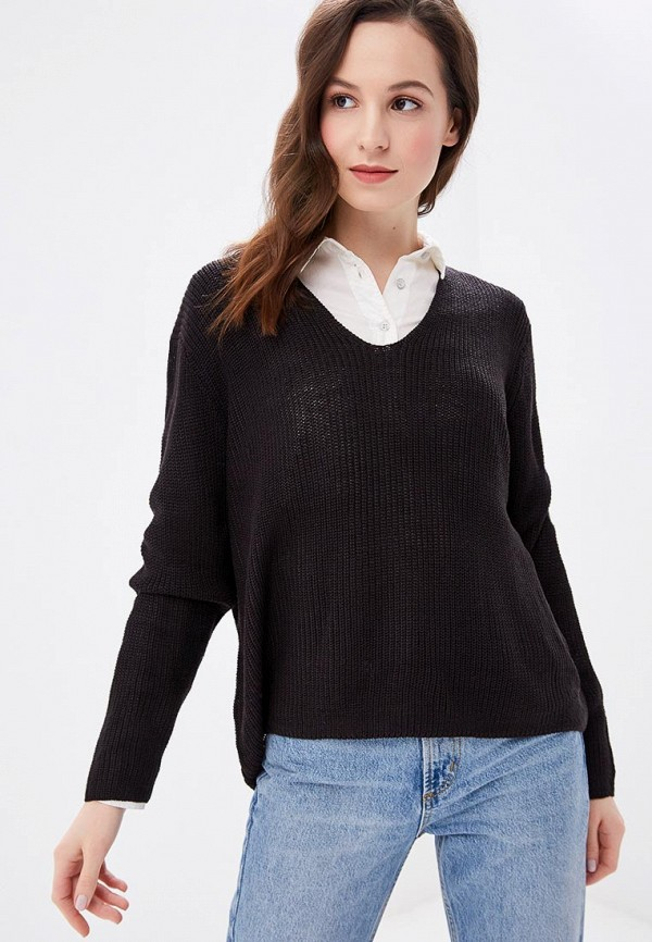 Купить Пуловер Fresh Brand, fr040ewcvmw0, черный, Осень-зима 2018/2019