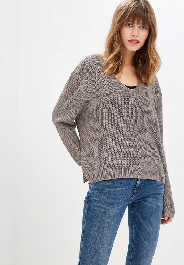 Купить Пуловер Fresh Brand, fr040ewcvmw1, серый, Осень-зима 2018/2019