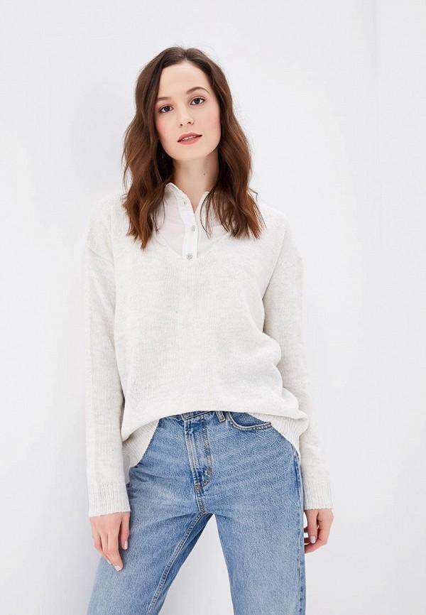 Купить Пуловер Fresh Brand, fr040ewcvmx9, белый, Осень-зима 2018/2019