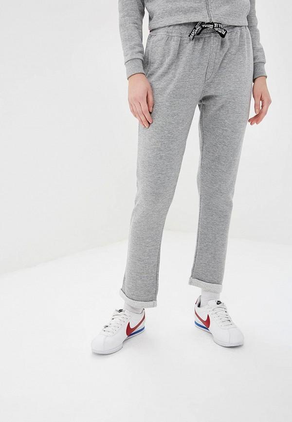 женские спортивные спортивные брюки fresh brand, серые