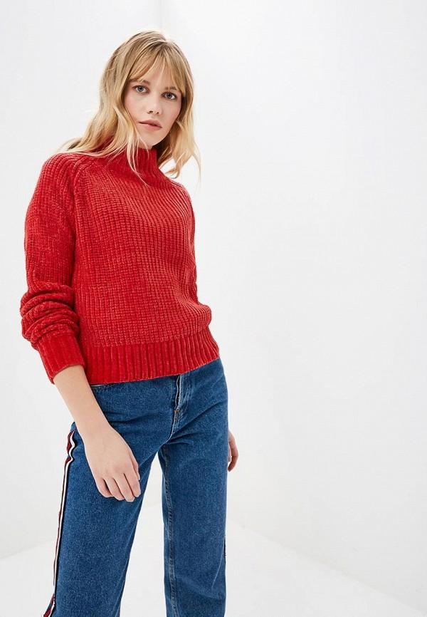 женский джемпер fresh brand, красный