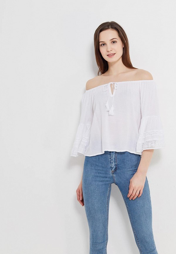 Блуза Fresh Cotton Fresh Cotton FR043EWANSY8 fresh style back criss cross one piece floral swimwear for women