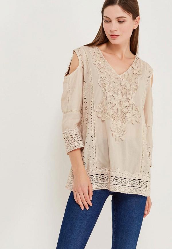 Блуза Fresh Cotton Fresh Cotton FR043EWANTB7 fresh style back criss cross one piece floral swimwear for women