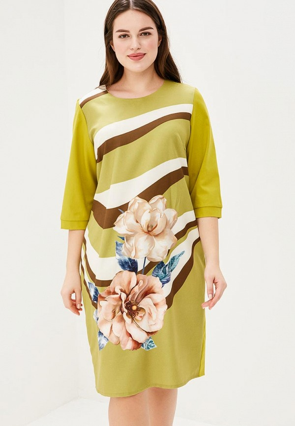 Платье Fresh Cotton Fresh Cotton FR043EWBCBR9 fresh style back criss cross one piece floral swimwear for women