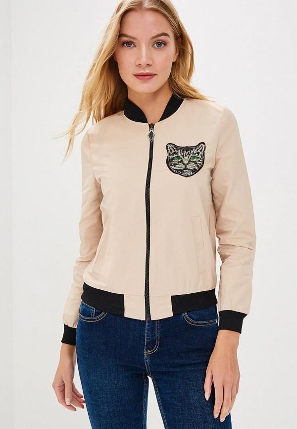 Купить Куртка Fresh Cotton, FR043EWBSFL9, бежевый, Осень-зима 2018/2019