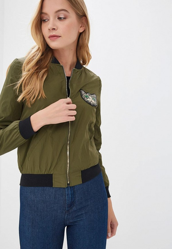 Купить Куртка Fresh Cotton, FR043EWBSFM2, хаки, Осень-зима 2018/2019